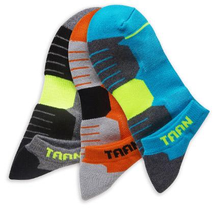 泰昂TAAN运动袜 T-350 男款 船袜,加厚毛巾底(防臭、柔软、耐磨、包裹)