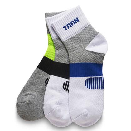 泰昂TAAN运动袜 T-348 男款 中帮 加厚毛巾底,吸汗,防臭,柔软,耐磨,包裹