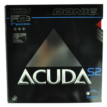 多尼克DONIC ACUDA S2反胶套胶FD3 方程式套胶3代 12082