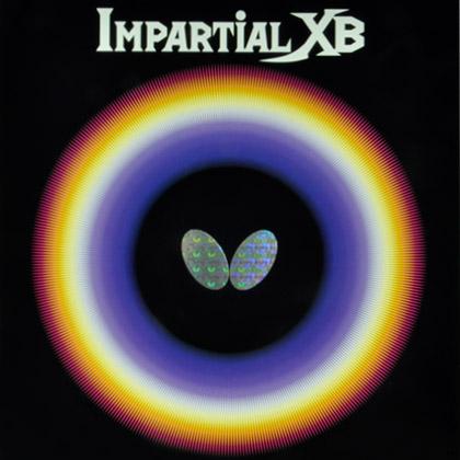 蝴蝶BUTTERFLY乒乓套胶 IMPARTIAL XB 均衡型正胶套胶(00410)