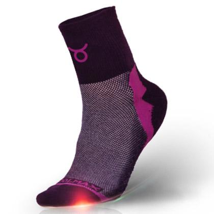 悠途十二星座排汗抗菌徒步袜951112--金牛座 深紫(专属于你星座的袜子)