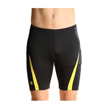 力为(M15L025R)男士紧身跑步裤 黑色