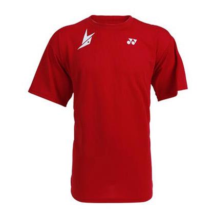 尤尼克斯YONEX 羽毛球短袖 15015BCM 红色