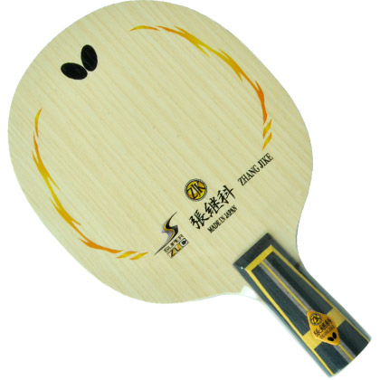 蝴蝶Butterfly 超级张继科23580底板直拍  SUPER ZLC-CS乒乓底板,强烈旋转和充沛底劲