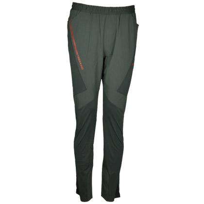 探路者TOREAD 速干跑步长裤KAME81576-G08X深灰色(弹力布,吸湿速干)