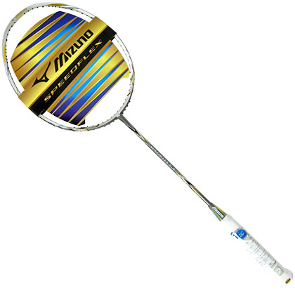 美津浓Mizuno羽毛球拍Speedflex7.3(边框压缩技术,感受兰博基尼激情)