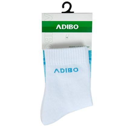 艾迪宝B16-06女款羽毛球袜 蓝/白(提供足部运动的保护与舒适)