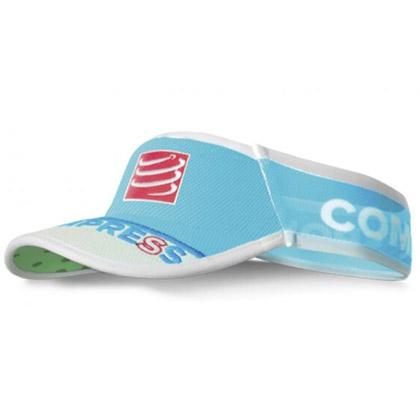 康普波斯 Compressport超轻空顶帽 V2 UL Viso 亮蓝(CS-VISORV2,速干、透气)