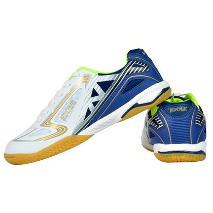优拉翼龙白色乒乓球鞋 男女通款,高性价比专业乒乓运动鞋 JOOLA-116