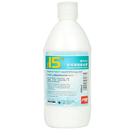 红双喜15号水溶性粘合剂 无机胶水,附送海绵刷(500ML)