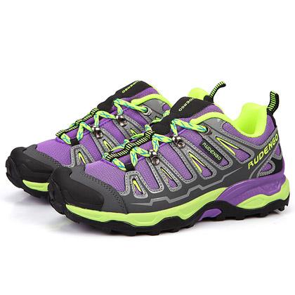 瑞登高 HD801紫色女款户外徒步鞋(1318-6)