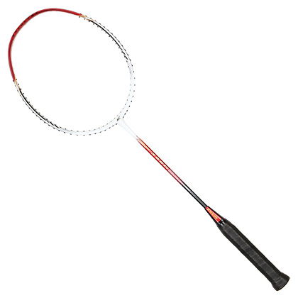 凯胜kason羽毛球拍汤仙虎300TI(TSF300Ti)能拉30高磅的红色高级强弓