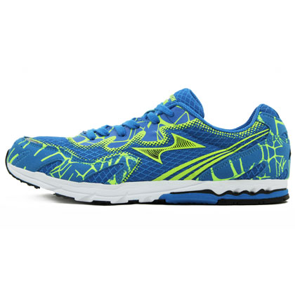 海尔斯Health跑步鞋跑鞋马拉松慢跑鞋 711S-1 蓝色(加速防滑,超轻时尚)