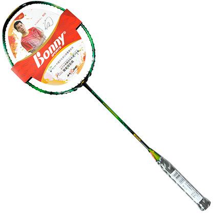 波力羽毛球拍 绿色巨人SUPER HULK 高端专业羽毛球拍 高刚性碳纤维,杀球威猛凌厉!