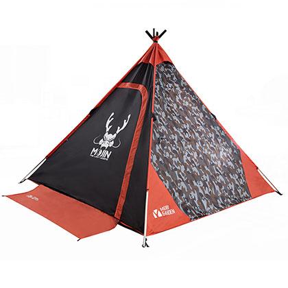 牧高笛 《寻龙诀》涂鸦复古露营帐篷纪念款EXZ1629001