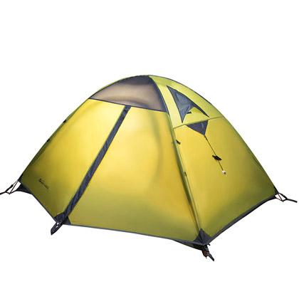牧高笛冷山2AIR双人双层三季铝杆帐篷 绿色(防风防水,驴友推荐)