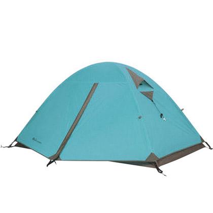 牧高笛冷山2AIR双人双层三季铝杆帐篷 蓝色(防风防水,驴友推荐)
