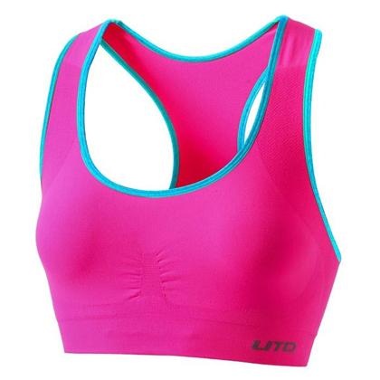 悠途UTO运动文胸 964201 霓虹粉(速干透气,柔软舒适)
