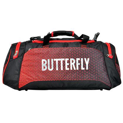 蝴蝶BUTTERFLY TBC-971-01 新款乒乓球包大旅行包红色