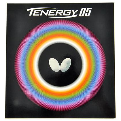 蝴蝶T05涩性内能反胶套胶05800(Butterfly TENERGY.05) ,旋转性能出色 摩擦内能型
