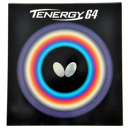 蝴蝶T64反胶套胶05820(TENERGY.64) 张继科的选择 蝴蝶品牌中最畅销的高端速度型反胶之一