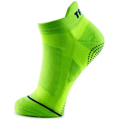 泰昂TAAN运动袜 T-347运动袜 男款羽毛球船袜 绿色款 5双装