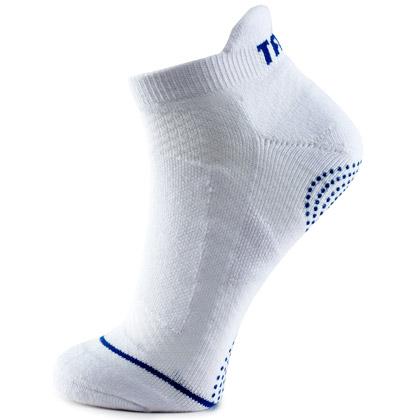 泰昂TAAN运动袜 T-347运动袜 男款羽毛球船袜 白色款 5双装