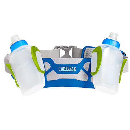 駝峰CamelBak水壺腰包 Arc2艾克雙水瓶運動腰包 藍色/酸橙綠