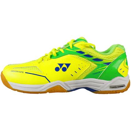 尤尼克斯YONEX羽毛球鞋男款大黄蜂 SHB-700CR 亮黄色 前后CUSHION减震碳板加强稳定