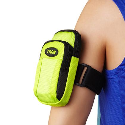 泰昂 跑步运动臂包 臂带 BAG1105黑色/绿色/橙色(收纳各种小部件,方便携带)