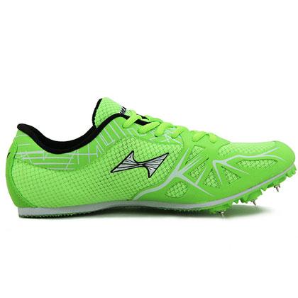 海尔斯跑钉鞋 166-2 专业跑钉鞋 草绿色