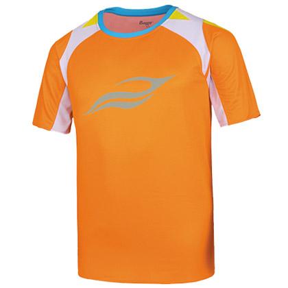 波力1CTM15026男士羽毛球服,橙色款