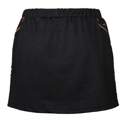 胜利VICTOR女款短裙 K-6690C 黑色 韩国国家队里约奥运战服