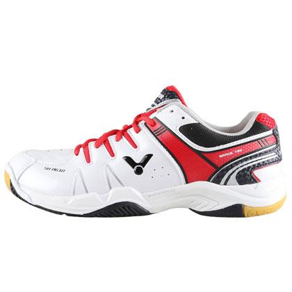 胜利VICTOR羽毛球鞋 SH-A610AD 白红色