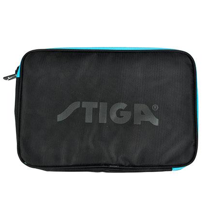斯帝卡STIGA 乒乓球包CP-8121蓝黑拼色方拍套