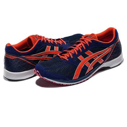 爱世克斯 亚瑟士ASICS跑鞋TARTHERZEAL4 男款TJR282-5230 蓝色/亮橘色