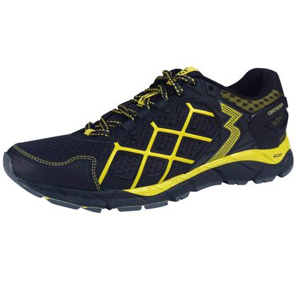 361°国际版跑鞋ORTEGA 101610502-1越野跑鞋 男 U电镀灰/鲜黄
