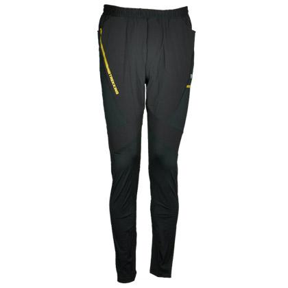 探路者TOREAD 跑步长裤KAME81576-G01X 黑色(弹力布,吸湿速干)
