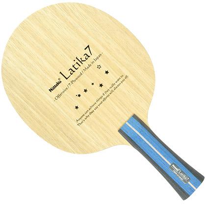尼塔库乒乓底板 拉提卡7 latika7 NE-6136 七层纯木底板