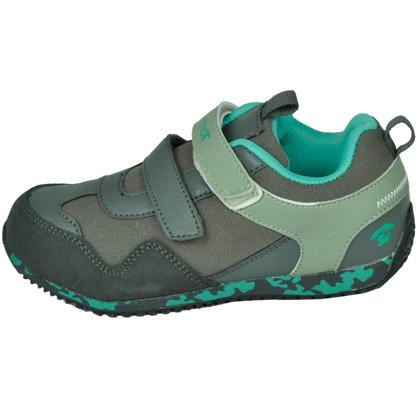 探路者KIDS儿童徒步鞋 TAEJ51306 童鞋 双粘袢迷彩底印 炮铜灰