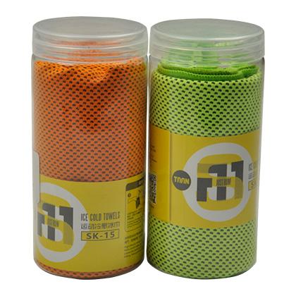 泰昂TAAN 运动冷感毛巾 SK-15-17(透气吸汗,一甩即凉)