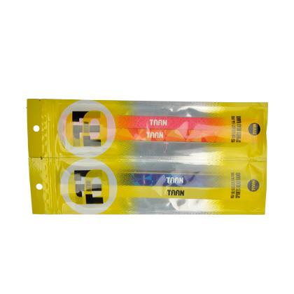 泰昂TAAN 专业运动头带 TD8101-17 男款 蓝色和黄色 两条装(一体佩戴,吸汗防滑)