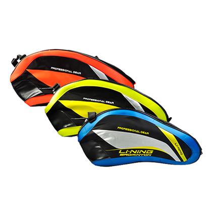李宁羽毛球包 ABJL004 三支装 三种颜色供选(立体造型,炫彩多姿)