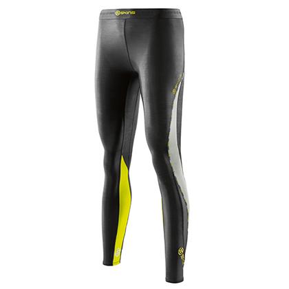 SKINS思金斯 DNAmic梯度压缩Black/Limoncello长裤 女 (梯度压缩,舒适透气)