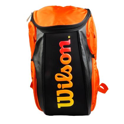 威尔胜Wilson网球双肩背包 WRZ841596 橙色(立体挺括的版型)