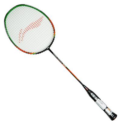 李宁羽毛球拍  A110 橙绿(基础款,全碳战拍)