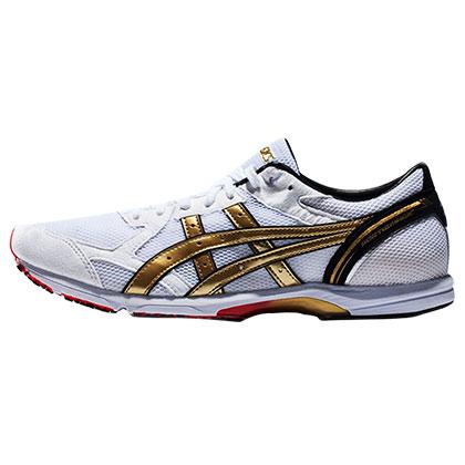 ASICS 亚瑟士 SORTIEMAGIC LT马拉松竞速跑鞋 男款TMM456-0194 (魔术透气,弹性防震)