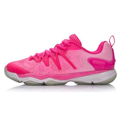 李宁羽毛球鞋 AYAM022-1 Pride女款 李雪芮赞助款,全新仿生设计大底,抓地力更强,炫酷配色,绝对吸睛