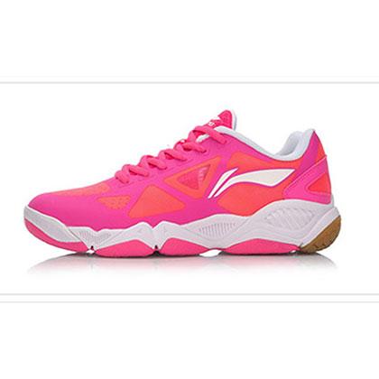 李宁羽毛球鞋 AYTM052-4 女款(多维加速度TD款)经典多维加速度鞋底,透气好!
