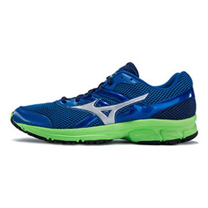 Mizuno美津浓 SPARK 男款跑鞋 K1GA160306 蓝色(轻量舒适,高倍缓震)